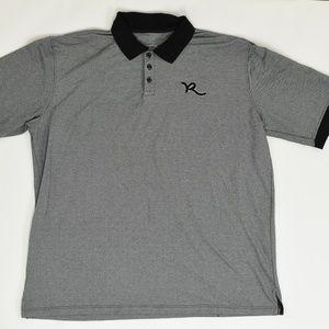 Rocawear Clasic Big & Tall 3XB Gray   Polo Polyest
